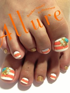 #nails cute idea, not alllll of them the same