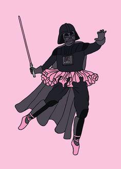 Ahora a Darth Vader le gusta el ballet