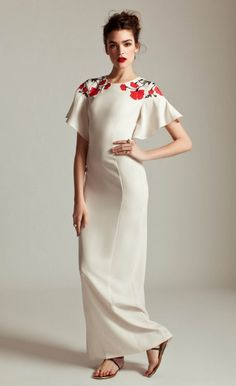 Long Poppy Dress | Designer Evening Dresses | ALICE By Temperley