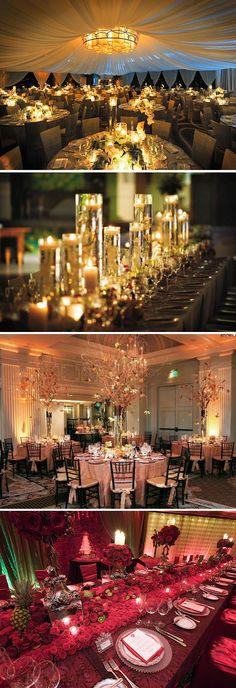 beautiful wedding reception