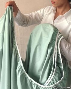 Folding a Fitted Sheet How-To