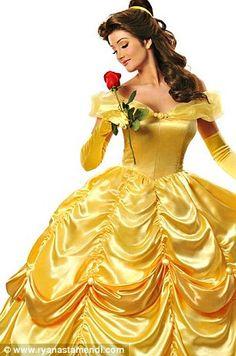 real life disney princesses!