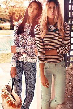 tory burch resort 2013 // all about prints