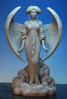Here is yet another Ebony Visions sculpt. Designed by Thomas Blackshear and sculpted by Mark Newman.