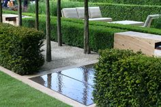 The Laurent-Perrier #Garden by Luciano Giubbilei RHS Chelsea Flower Show 2009