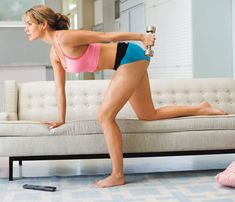 Workout while watching tv