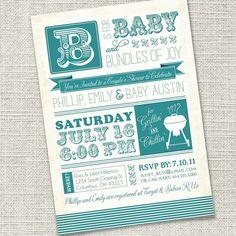 baby shower bbq invite