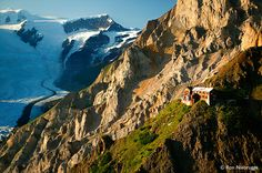 Erie Mine con Root Glacier, Wrangell-St.  Elias National Park, Alaska