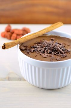 Chocolate Pumpkin Pudding (vegan and gluten free) 1