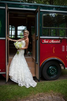Just Married! #MichiganWedding | Photo By: http://PaulRetherford.com