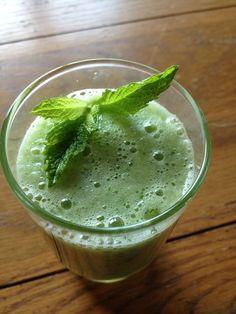 Healthy Recipe - Minted Honeydew Cooler