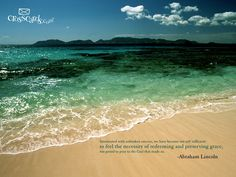 Beach Wallpaper.  Intoxicated with unbroken success, we have become too self sufficient to feel the necessity of redeeming and preserving grace, too proud to pray to the God that made us.