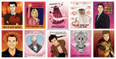 PRINTABLE DOCTOR WHO VALENTINES ARE LIVE!