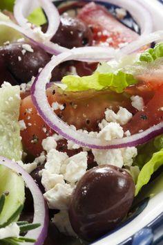 Good for You Greek Salad Recipe