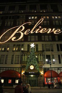 Believe sign!!