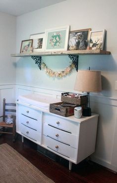 Project Nursery - Toddler Big Girl Room Dresser