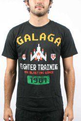 Galaga Classic 80s arcade game T-Shirt