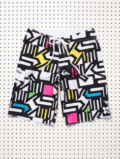 80s swim shorts