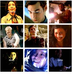 It's about nine people looking into the blackness of space and seeing nine different things. (gif set)