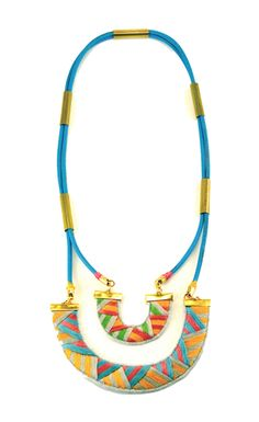 GUAJIRA Necklace - Maranon felt jewelleri, style, inspir jewelri, accessor, maranon, jewelri junki, guajira necklac, necklaces, embroid jewelleri