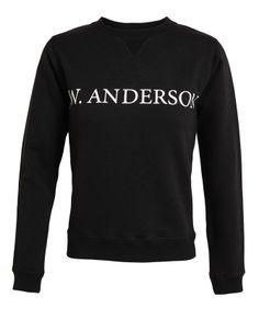 J.W.ANDERSON | Logo Printed Cotton Sweatshirt