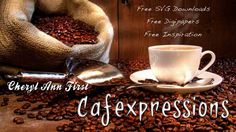 Cafe expression Blog Free Svg file