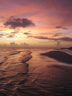 Sarasota, Florida, on Lido Beach...