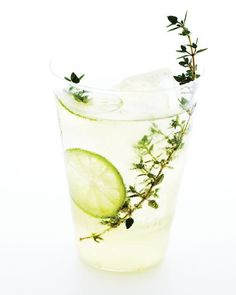Winter Thyme & Key Lime Cocktail Recipe