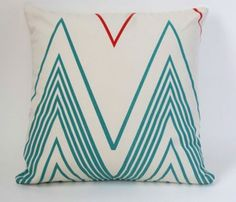 Double Chevron Pillow