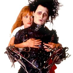 Winona Ryder & Johnny Depp - Edward Scissorhands