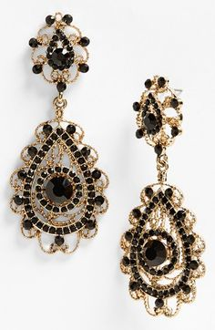 #Black Wedding Jewelry