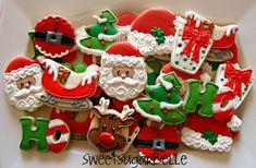 christma cooki, christmas goodies, holiday cookies, decorating ideas, christmas sugar cookies, decorated cookies, cookie decorating, christmas trees, decor cooki