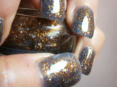 This is homemade!  I would love to learn how to make my own nail polish!