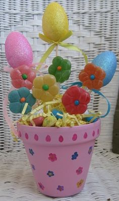 Dollar Store Easter Centerpiece Craft