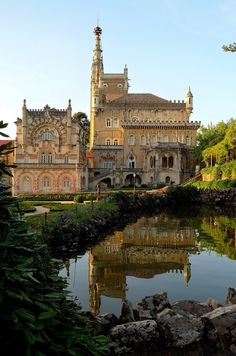 Palace of Bussaco...luxury hotel in Portugal...wow!