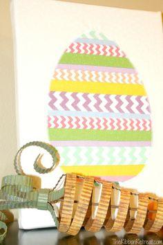 Ribbon Easter Egg - The Ribbon Retreat Blog