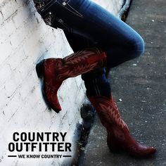 One of the shots from Country Outfitter's fall photo shoot!