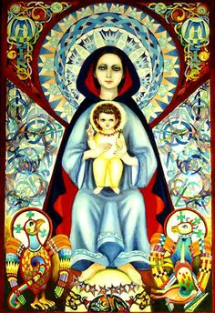 Celtic Madonna by Rita Stynes Strow