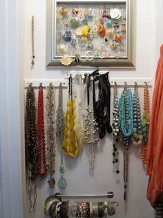 Jewelry - and Elfa Closet from Container Store