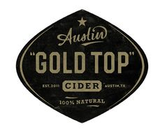 Austin Eastciders label by super_furry, via Flickr