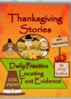 Daily Thanksgiving Passages - Comprehension Practice with