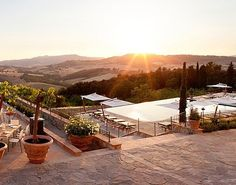 New Tuscany Hotels That Used to Be a Pig Farm and a Pile of Rubble