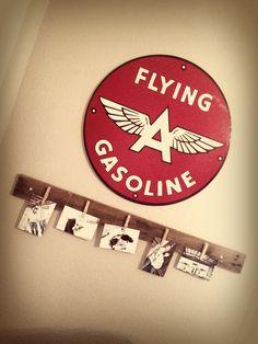 Aviation themed nursery or toddler room inspiration.