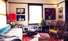 No one could get stressed in this unbelievably cozy space
