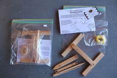Hokett Would Work Hand Loom kits