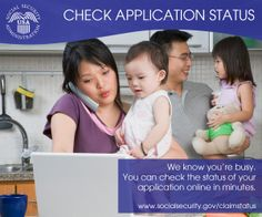 We know you're busy. You can check the status of your #SocialSecurity claim online at www.socialsecurity.gov/claimstatus
