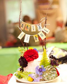Enchanted Forest + Woodland Style First Birthday