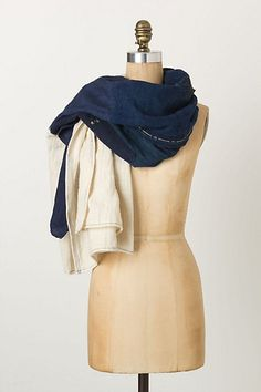 Boro Patchwork Scarf - Anthropologie.com