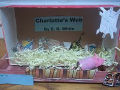 Learning & Growing the Piwi way!: Charlotte's Web Lapbook, crafts, diorama -all done!