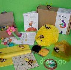 Esto es todo lo que puedes encontrar en el kit Didongo De flor en flor